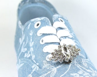 Rhinestone Shoe clips - SET OF 2 rhinestone shoes clips, Rhinestone shoe clips