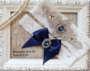 Wedding garter, wedding garter set, NO SLIP Customizable Ivory Lace Garter Set, Bridal Garter Set, Bridesmaid Gift, Prom, Personalized Gift