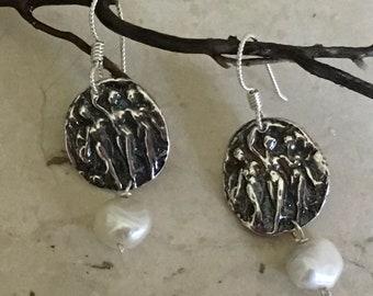 Three Graces Earring