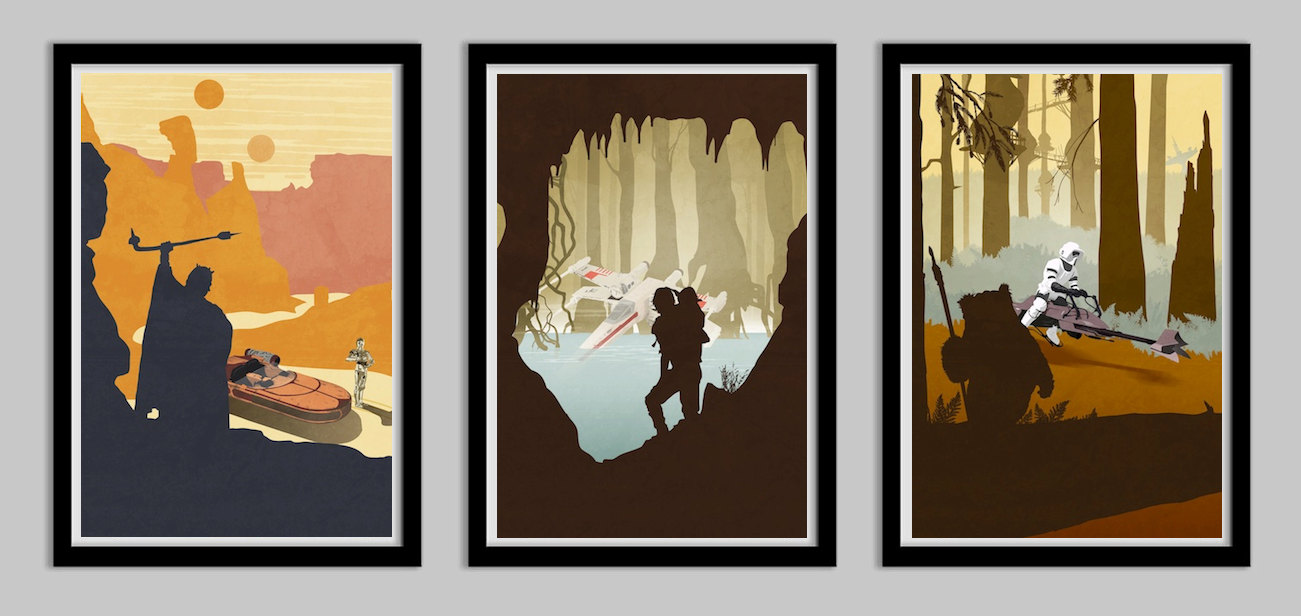 Star Wars Original Trilogy Poster Collection
