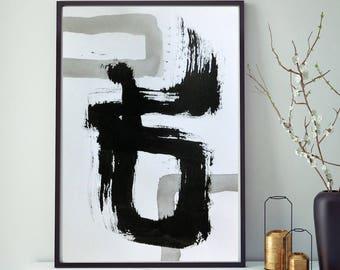 Moderne Kunst Bilder Schwarz Weiss ~ Kunst moderne malerei zum kaufen bilder von senge