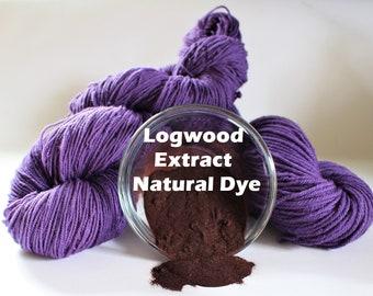 Purple Dye Logwood Dye Logwood Extract Powdered Dye Black Dye Eco Dye Dye Powder Violet Safe Fabric Dye Logwood Natural Dye
