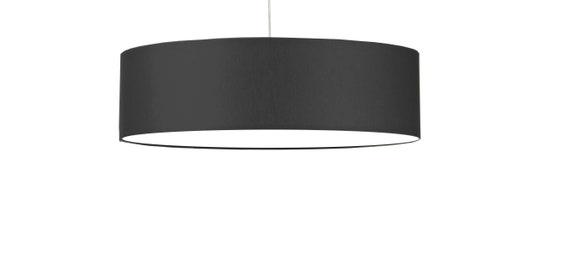 Lampenschirm 80 cm Dunkelgrau + Diffusor