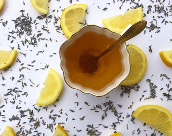 Lavender Lemonade Herbal Tea / Lemon Verbena / Lemongrass / Lemon Balm /Lavender Flowers / Iced Tea / Citrus Tea