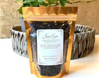 JANE EYRE inspired Loose Leaf Tea | Literary Tea, Book Theme Tea - Book Lover's Gift - Book Club