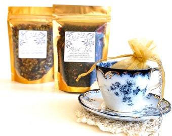 LITTLE WOMEN Tea Gift Box | Louisa May Alcott Inspired Tea Box - Literary Tea, Book Theme Tea - Book Lover's Gift | Jo March, March Sisters