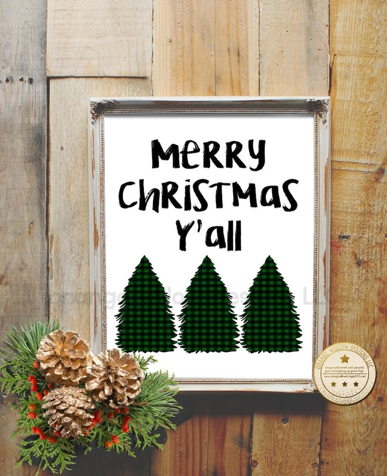 Merry Christmas Y'all Merry Christmas printable image 0