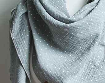 Soft triangle scarf , large shawl wrap bandana for women, triangle scarf bandana for women, girls, cotton scarf