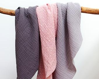 Soft bandana face scarf, bandana for women, triangle scarf bandana for women, gray cotton face scarf