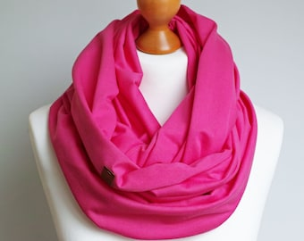 BASIC Cotton infinity scarf spring shawl for women, women cotton scarf, basic women scarf cotton, simple scarf, spring infinity scarf