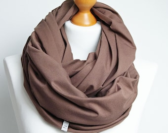 AUTUMN infinity scarf for women - loop scarf women cotton scarf - autumn accessories, travel scarf for women, gift for her
