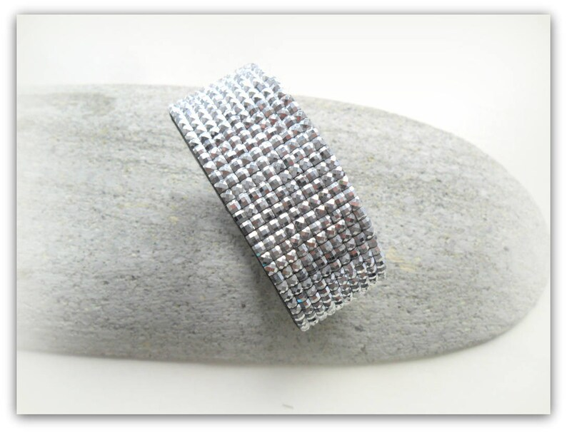 Mirror Silver Diamante Strap Diamante Strap Bracelet Diamante Band Mirror Accessories Strap Bracelet UK Shop