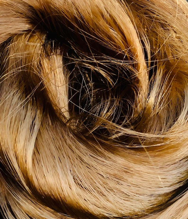 Titian Gold Saran Doll Hair for rerooting