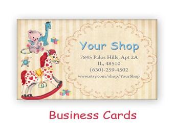 Vintage Business Cards Etsy
