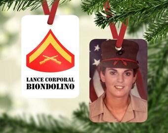 Marine corps ornament   Etsy