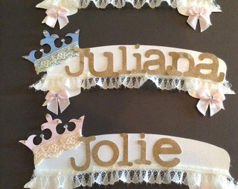 Cake name toppers birthday party baby shower