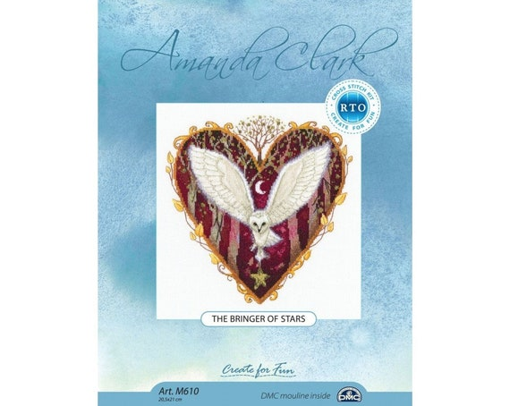Counted Cross Stitch Kit RTO The bringer of stars