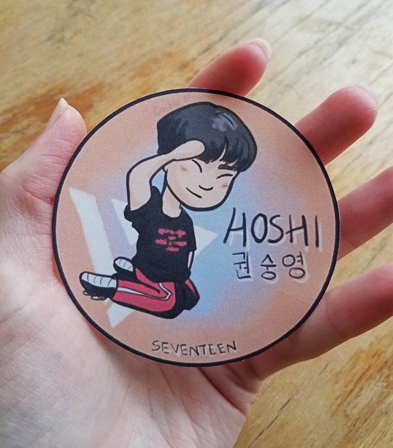 Cute Hoshi Sticker || Don't Wanna Cry Seventeen Sticker || Cute K-Pop  Stationary (Multiple Sizes)