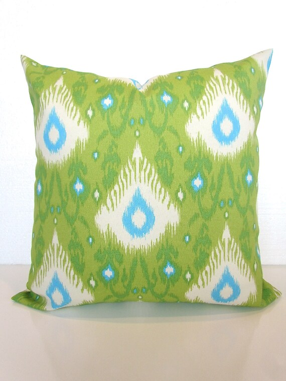 Green Outdoor Lime Green Outdoor Throw Pillow Covers Lime Etsy