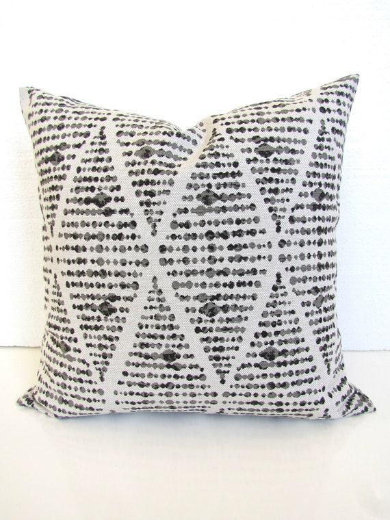 Farmhouse pillows GRAY PILLOWS Charcoal