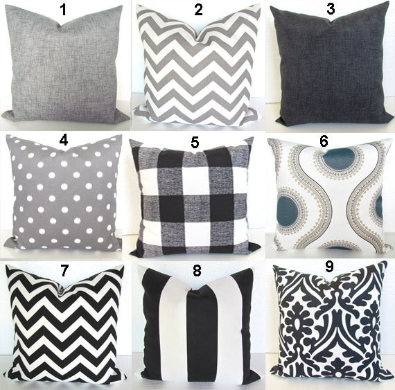 Incredible Gray Outdoor Pillow Charcoal Grey Throw Pillow Covers Black Outdoor Pillows Solid Charcoal Gray Pillow 16 18X18 20X20 All Sizes Outdoor Home Machost Co Dining Chair Design Ideas Machostcouk