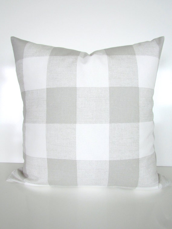 GRAY PILLOWS GREY Pillow Covers French