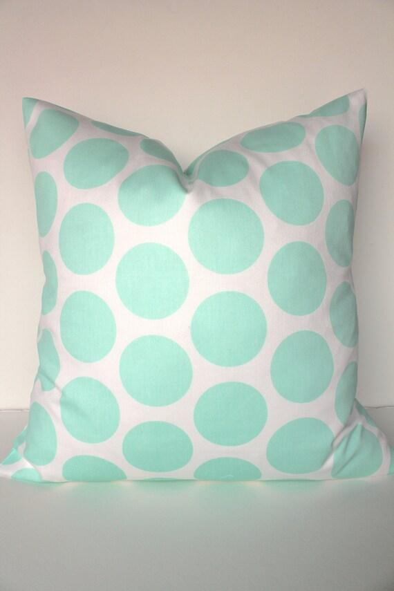 Prime Mint Pillows Green Throw Pillow Covers Aqua Mint Polka Dot Pillows Mint Pillow Covers Mint Polka Dot Pillows 16 18X18 20 Home Decor Sale Machost Co Dining Chair Design Ideas Machostcouk