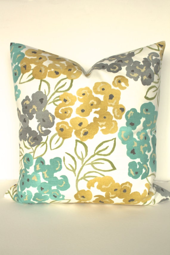 Turquoise PILLOWS Turquoise Teal Decorative Throw Pillow Cover Etsy Stunning Etsy Decorative Throw Pillows