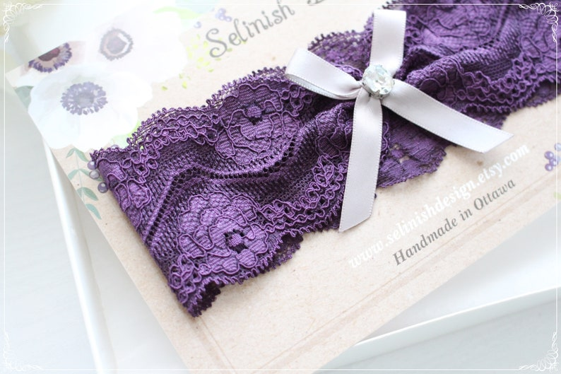 Lace Garter G2102purple Purple Wedding Lavender Purple Wedding Garter Leg Garters Purple Bridal Garter Wedding Garter Violet Garter