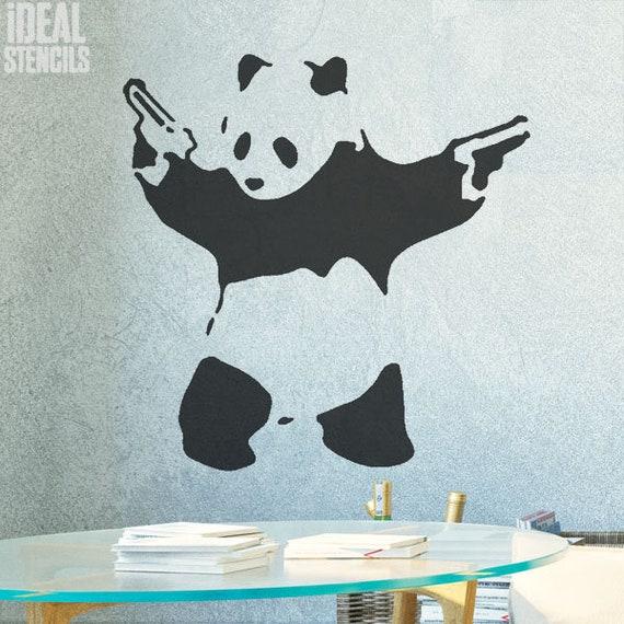 Banksy Kissing Coppers Stencil Replica graffiti stencil art home decor reusable