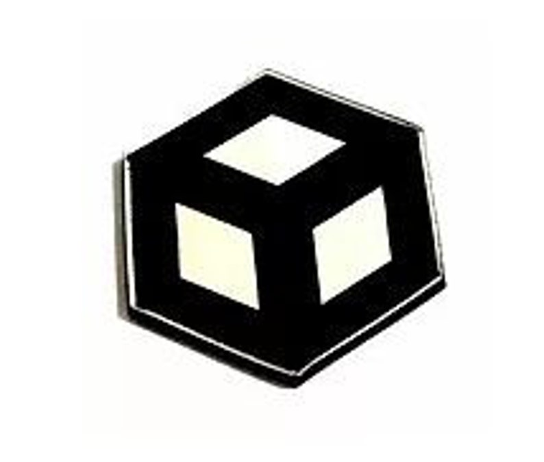 Open Cube Charms Laser Cut Jewelry Supplies.8 Pieces