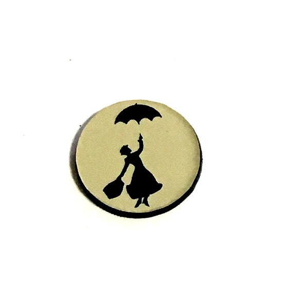 Wood & Acrylic Mini Shapes.8 Pieces. Mary Poppins. Laser Cut Supplies