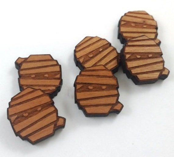 Laser Cut Supplies-8 Pieces. Ancient Mummy Charms-Acrylic and Wood Laser Cut-Jewellery Supplies-Little Laser Lab Wood and Acrylic Products
