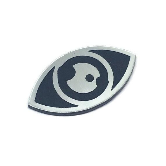 Wood & Acrylic Mini Shapes.8 Pieces. Eye Mini  Laser Cut Supplies
