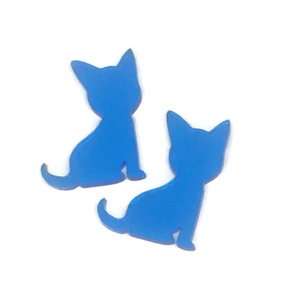 Acrylic Mini Shapes.8 Pieces. Puppy. Mini Laser Cut Supplies