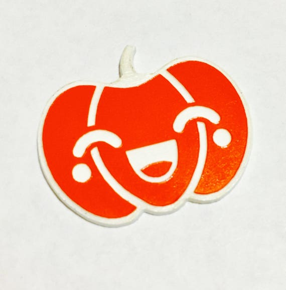 Laser Cut Supplies-1 Piece.Halloween Pumpkin Charms-Acrylic and Wood Laser Cut-Jewelry Supplies-Little Laser Lab Wood and Acrylic Products