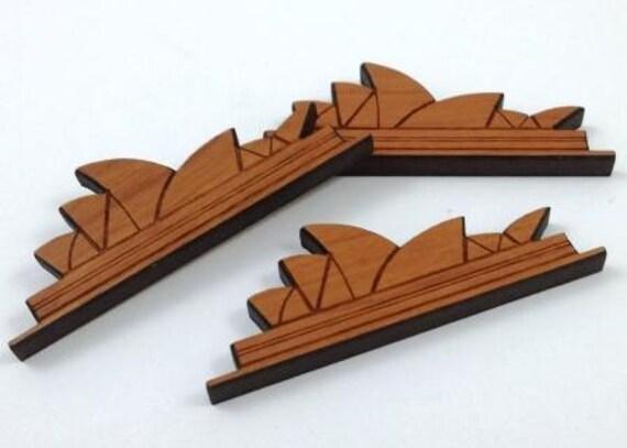 Wood & Acrylic Mini Shapes.8 Pieces, Sydney  Laser Cut Supplies