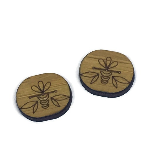 Bamboo Mini Shapes.8 Pieces.Folk Art Oval Flower. Laser Cut Supplies