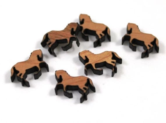 Laser Cut Jewelry Supplies.8 Pieces.Cow Charms.