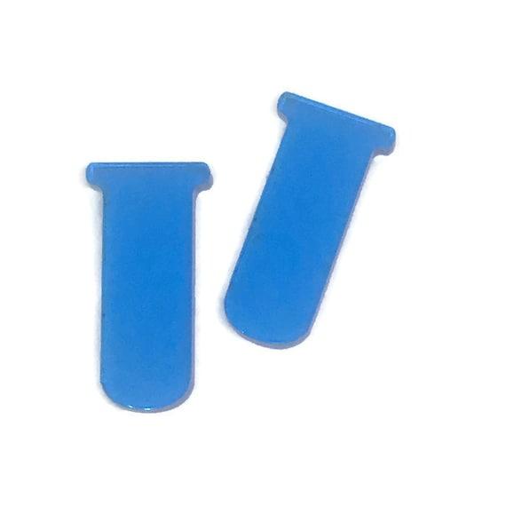 Acrylic Mini Shapes.8 Pieces. Test Tube. Mini Laser Cut Supplies