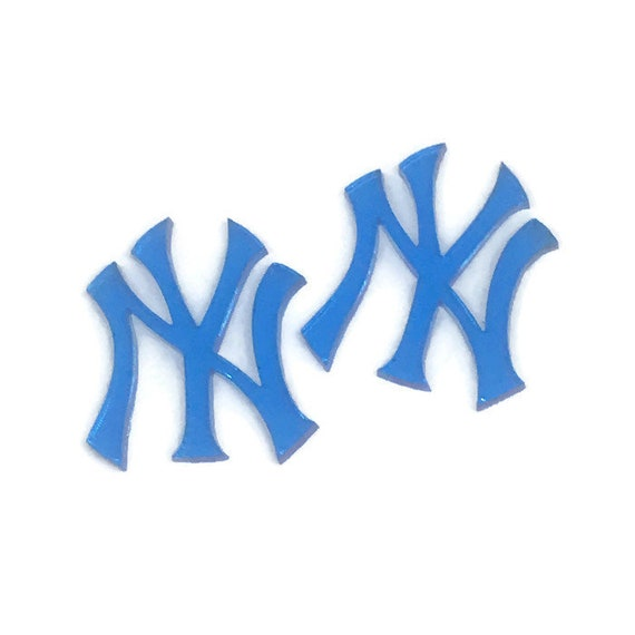Acrylic Mini Shapes.1 Piece. New York Yankees. Mini Laser Cut Supplies