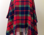 Vintage PENDLETON Knockabouts Wool Poncho