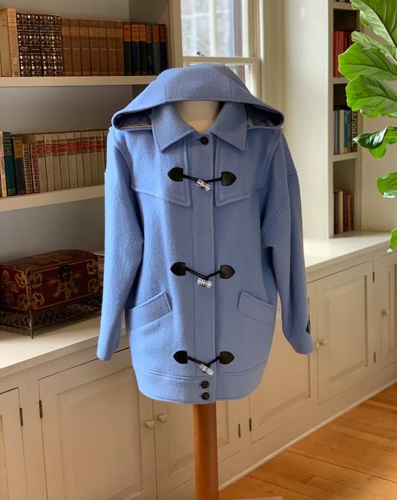 Genuine Vintage Hudson Bay Blanket Sky Blue Coat