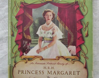 The Younger Sister: An Intimate Portrait Study of Princess Margaret - Mid 20th Century British Royalty Souvenir