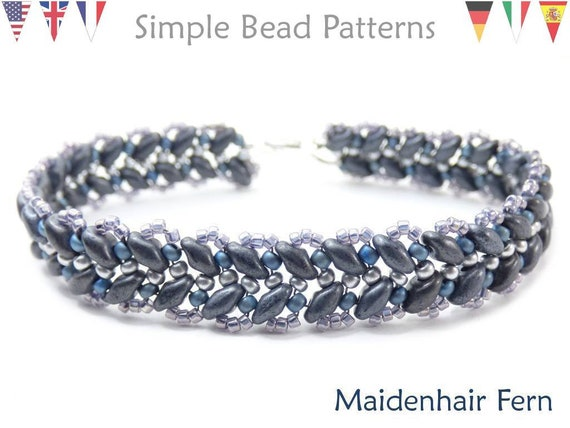 super duo beads patterns