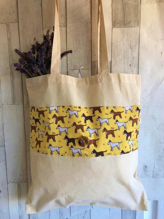 Pug Dog On Holiday Tote Shopping Bag For Life