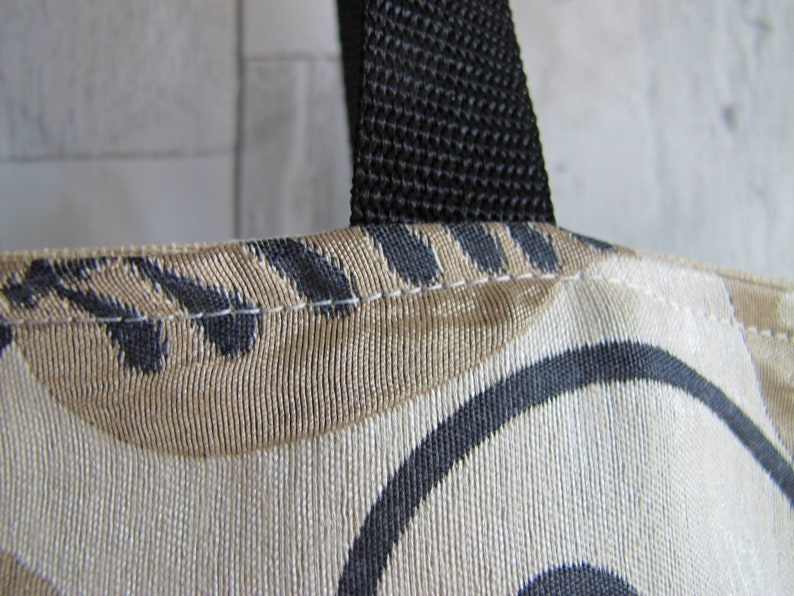 Leaf design fabric Floral Shopping bag Beach Bag Polka dot bag Boho bag Slouch bag Bag for life Work Bag Eco bag Reversible Bag