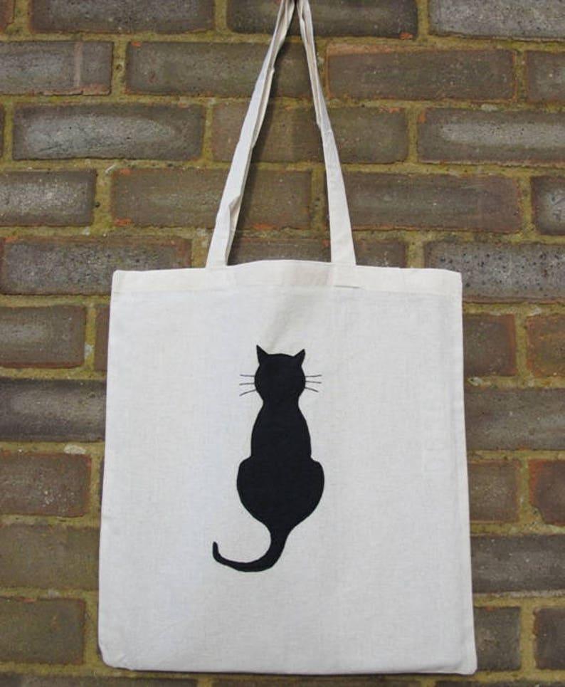 46f54281aa9 Cat Cotton Shopper Siamese Cat Tote Bag Cat Shopping Bag | Etsy