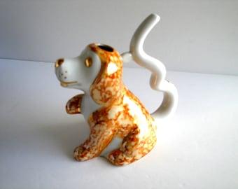 Christmas Collectible Keepsake Mid Century Royal Dux Boxer Figurine Czech Republic Porcelain Dog Statue Animal Pet Lover Present Gift