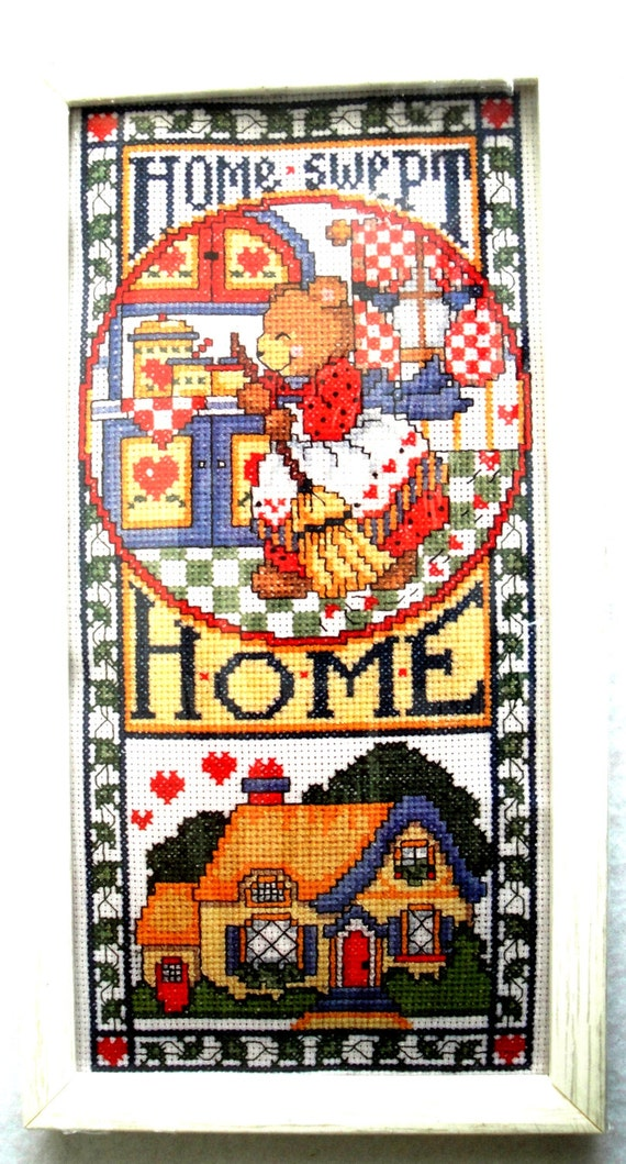 e9e9a5e26f960 Design Works Crafts Counted Cross Stitch Kit NIP Home Swept Home 9463